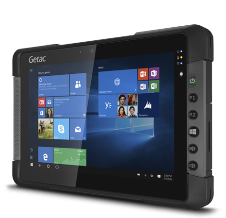 Getac T800 G2 64GB Black tablet