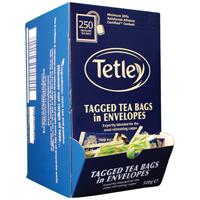 Tetley ENVELOPED TEABAGS PK250 1159Y