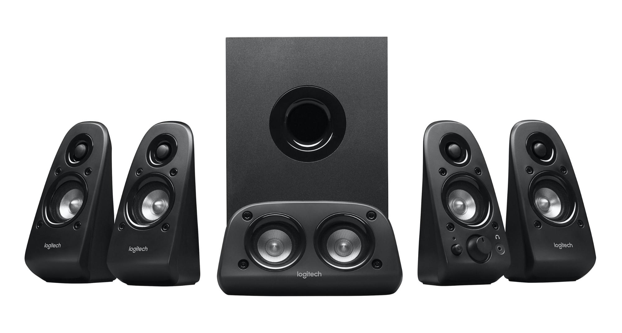 Logitech Z506 luidspreker set 5.1 kanalen 75 W Zwart