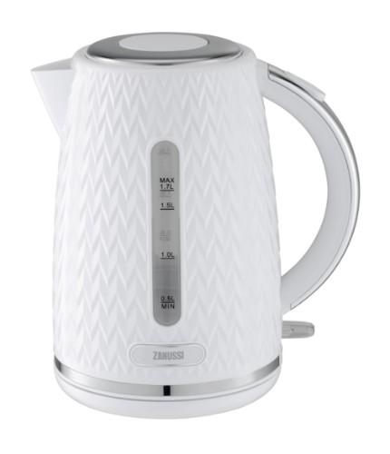 Zanussi ZEK-1350-WT electric kettle 1.7 L 3000 W White