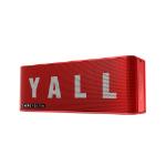Energy Sistem Music Box 5+ Yall Edition 10 W Altavoz portátil estéreo Rojo, Blanco