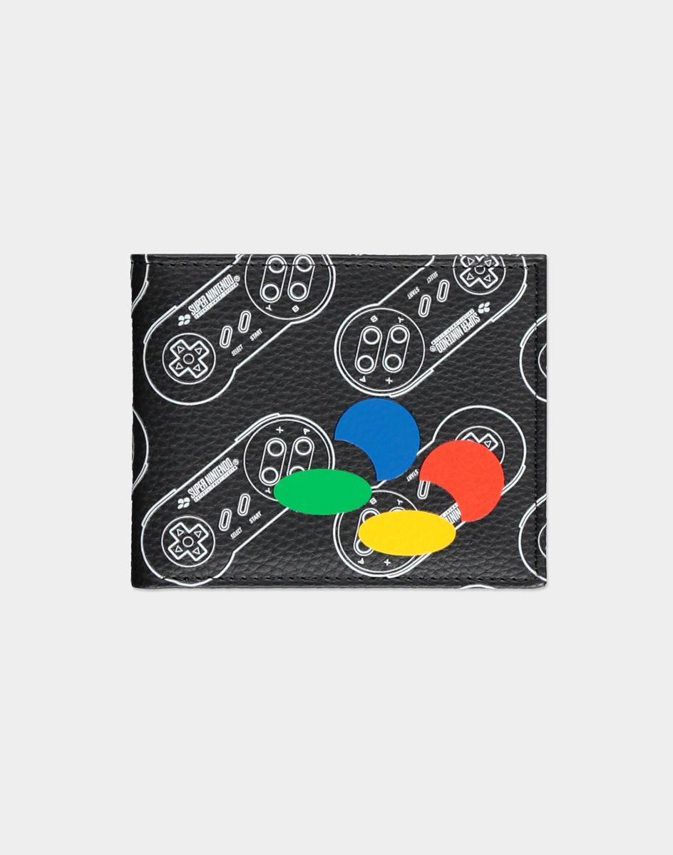 Nintendo SNES AOP Bifold wallet Unisex Multicolor