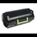 Lexmark 62D2X0E (622X) Toner black, 45K pages