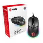 MSI Clutch GM11 mouse USB Optical 5000 DPI Ambidextrous