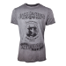 JACK DANIEL'S Men's Charcoal Mellowed 'Drop by Drop' T-Shirt, Small, Grey (TS050400JDS-S)