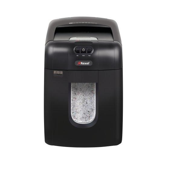Rexel Auto+ 130M triturador de papel 60 dB Negro