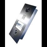 "AGFEO IP-Video TFE 1 video intercom system 8.89 cm (3.5"") Silver"