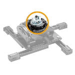 Chief CPA265 projector mount accessory Silver