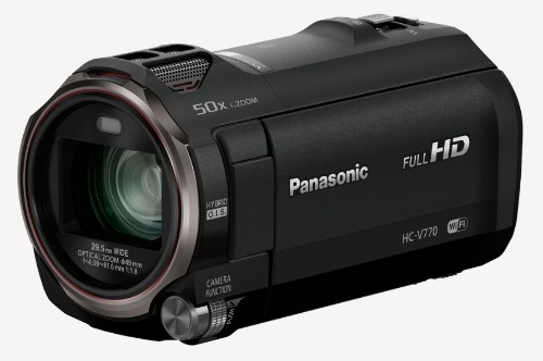 Panasonic HC-V770 Handheld camcorder 12.76MP MOS BSI Full HD Black