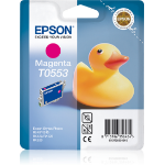 Epson C13T05534010 (T0553) Ink cartridge magenta, 290 pages, 8ml