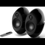 Edifier E25HD LUNA HD Bluetooth Speakers Black - BT/3.5mm/Optical DSP 74W