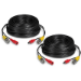 Trendnet TV-DC102 30m BNC, 2.1mm BNC, 2.1mm Black coaxial cable