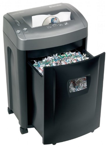 Swordfish 1500XCD paper shredder Cross shredding 22 cm 65 dB Black, Grey