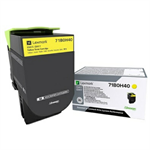 Lexmark 71B0H40 Toner yellow, 3.5K pages