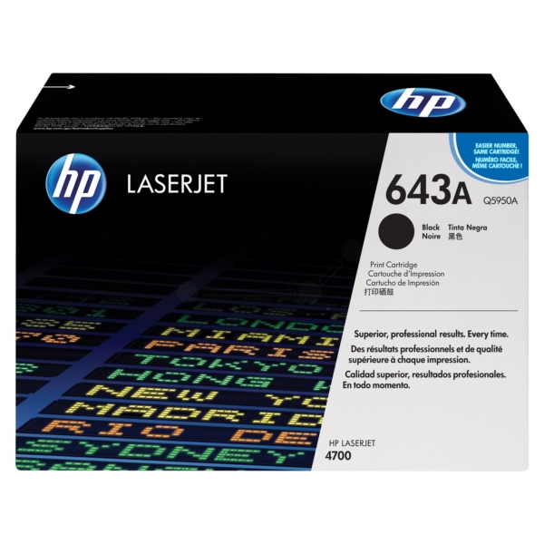 Toner Cartridge Black 11k Pages (Q5950A)