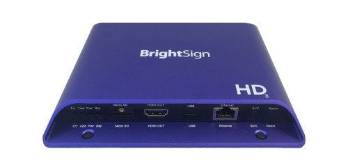 Brightsign HD1023 digital media player 1920 x 1080 pixels Blue