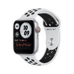 Apple Watch Series 6 Nike OLED 44 mm Plata GPS (satélite)