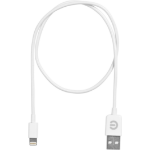 eSTUFF ES80120 0.5m USB A Lightning White mobile phone cable