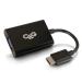 C2G 80501 adaptador de cable de vídeo 0,2 m HDMI VGA (D-Sub) Negro