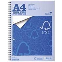 Silvine EVERYDAY A4 TWINWIRE NOTEBOOK