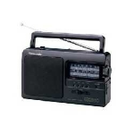 Panasonic RF-3500E9-K radio Portable Analog Black