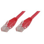 Microconnect Cat6 UTP 1m 1m Red networking cable