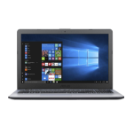 "ASUS VivoBook X542UA-GQ581R 2.7GHz i7-7500U 15.6"" 1366 x 768pixels Grey Notebook"