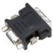 Targus ACX120EUX cambiador de género para cable DVI-I VGA Negro