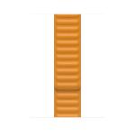 Apple MY9Q2ZM/A smartwatch accessory Band Orange Leather