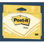 Post-It NOTE 76MM X 127MM CANARY YELLOW