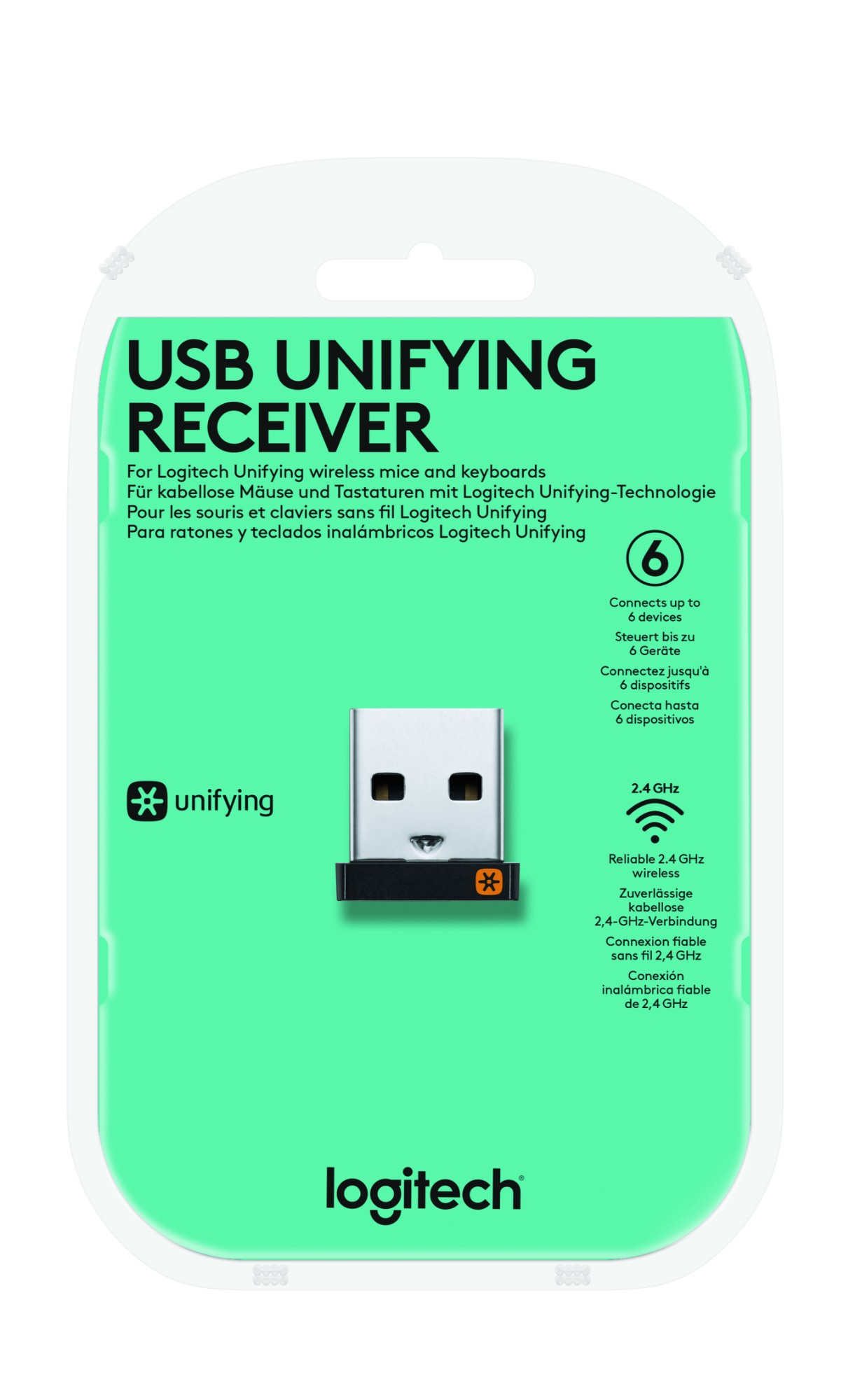 555d4c20f38 Logitech USB Unifying Receiver USB receiver - input device ...