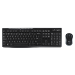 Logitech MK270 keyboard RF Wireless QWERTY Italian Black