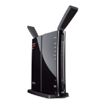 Buffalo N600 Gigabit Ethernet Black wireless router