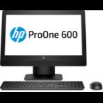 """HP ProOne 600 G3 54.6 cm (21.5"""") 1920 x 1080 pixels 7th gen Intel® Core™ i5 8 GB DDR4-SDRAM 500 GB HDD Windows 10 Pro Wi-Fi 5 (802.11ac) All-in-One PC Black"""