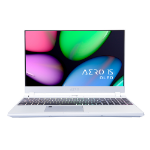 "Gigabyte AERO 15S OLED SA-7UK5130SH Notebook Silver 39.6 cm (15.6"") 3840 x 2160 pixels 9th gen Intel® Core™ i7 16 GB DDR4-SDRAM 512 GB SSD NVIDIA® GeForce® GTX 1660 Ti Wi-Fi 6 (802.11ax) Windows 10 Home"