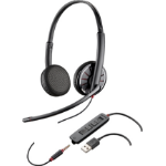 Plantronics Ð¡325 Binaural Head-band Black headset