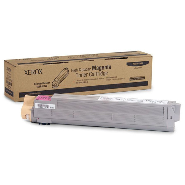 Xerox 106R01078 Toner magenta, 18K pages @ 5% coverage