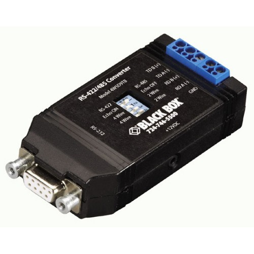 Black Box IC820A serial converter/repeater/isolator RS-232 RS-422/485