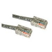 C2G Cat5E Crossover Patch Cable Grey 0.5m
