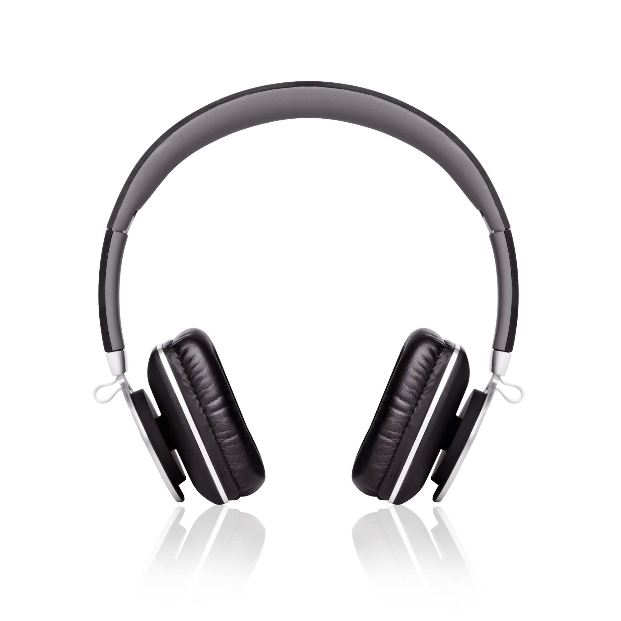 Veho 360° Z8 Aluminium,Black Circumaural Head-band headphone