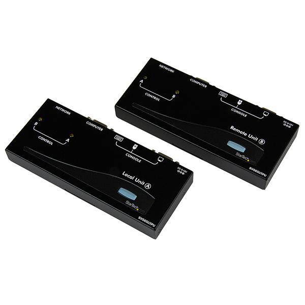 StarTech.com Extensor de Consola KVM por Cat 5 Ethernet (150m) con USB y Vídeo VGA