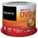 Sony 25 x 4.7GB DVD+R in Spindle - 16x recording speed