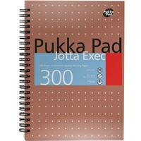 Pukka PUKKA JOTTA EXEC A4 300 PGS COPPER