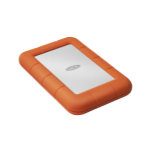 LaCie Rugged Mini external hard drive 1000 GB Orange, Silver