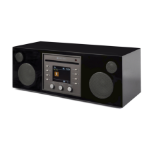 Como Audio Musica digital audio streamer Black Wi-Fi