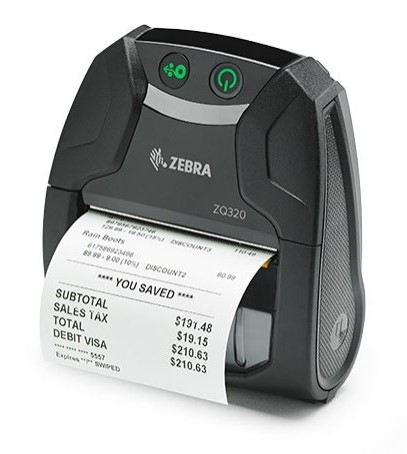 Zebra ZQ320 label printer Direct thermal 203 x 203 DPI Wired & Wireless