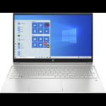 "HP Pavilion 15-eg0024na Notebook 39.6 cm (15.6"") Touchscreen Full HD Intel® Pentium® Gold 8 GB DDR4-SDRAM 128 GB SSD Wi-Fi 5 (802.11ac) Windows 10 Home Silver"