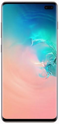 "Samsung Galaxy S10+ SM-G975F 16.3 cm (6.4"") 8 GB 512 GB 4G White 4100 mAh"