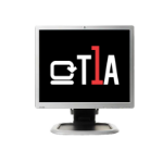 T1A HP-1950 19IN BLACK/SILVER TFT REFURBISHED UK+VGA SINGLE BOX interface cards/adapter