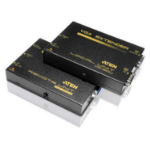 Aten VE150A AV extender AV transmitter & receiver Black